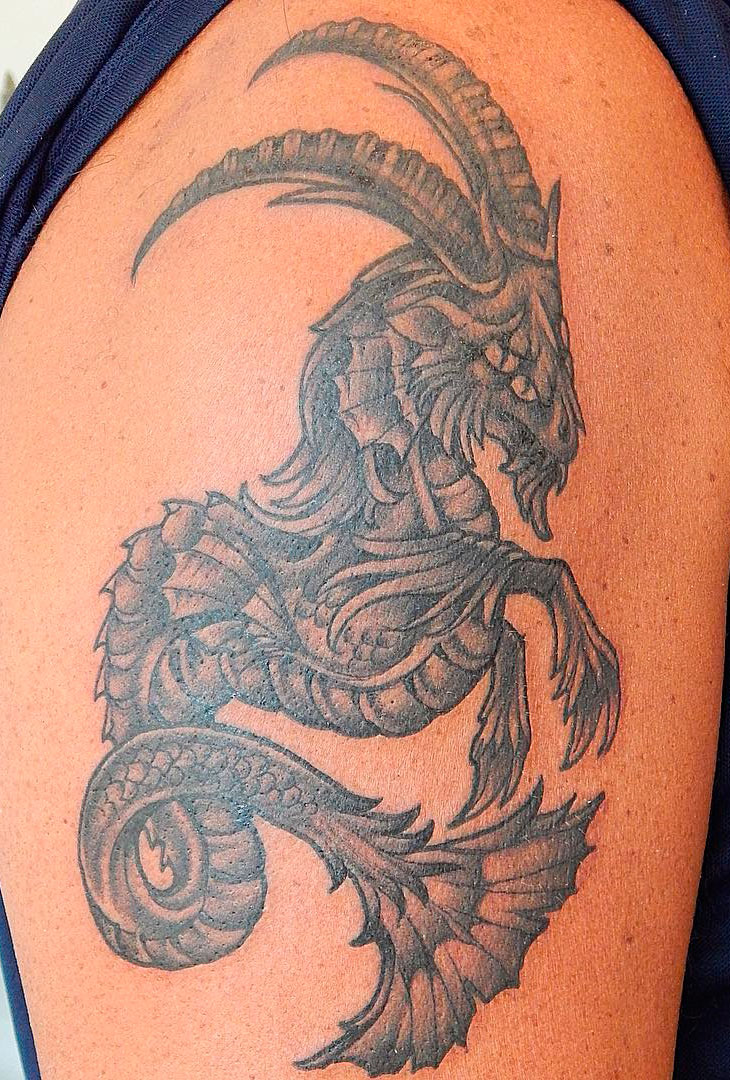 Что обозначает козерог в тату