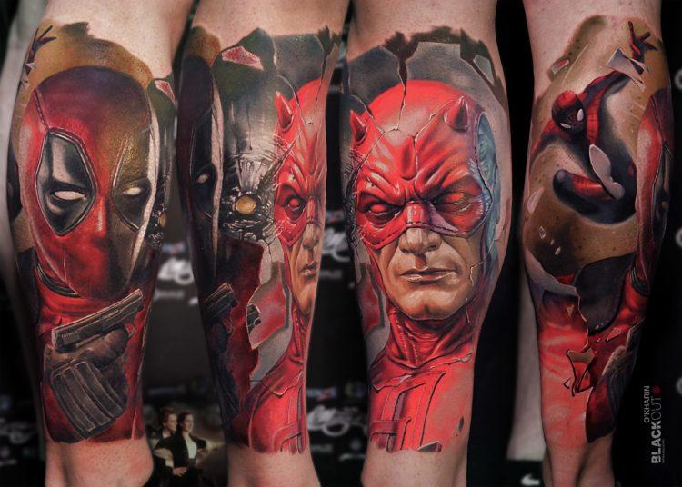 Супергерои в стиле реализм