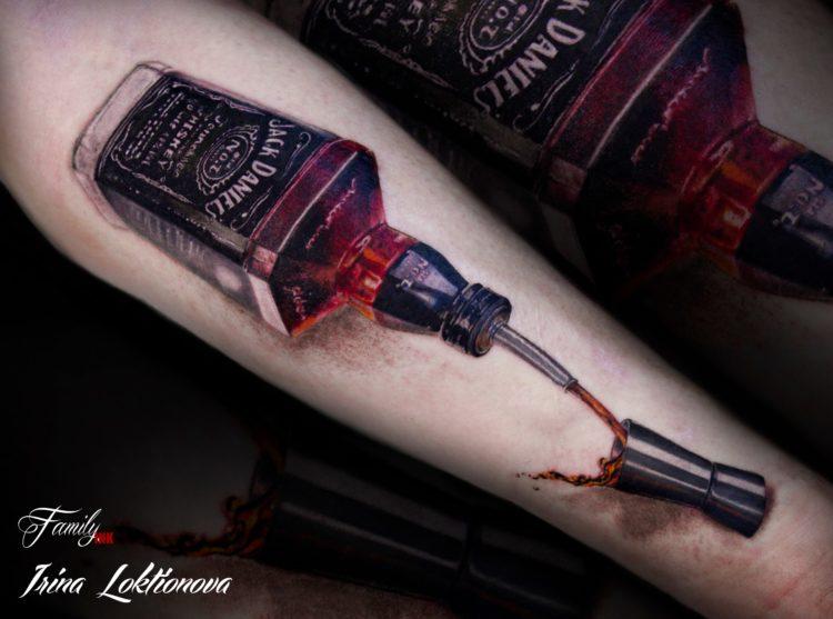 Бутылка Jack Daniels