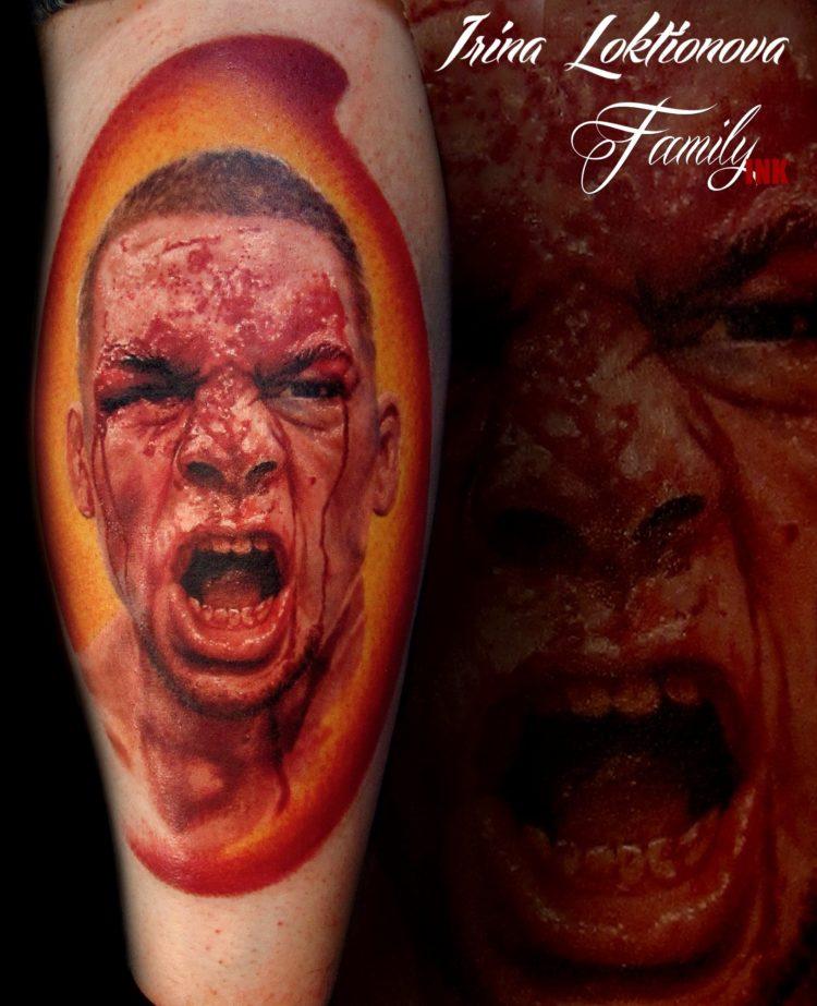 Кровавый портрет Нейта Диаса