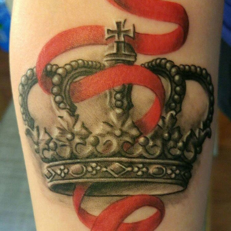 Фото тату корона