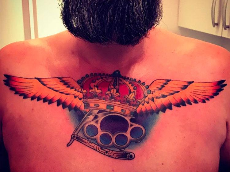Фото татуировки корона