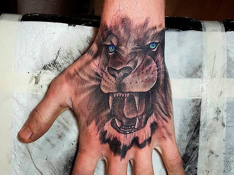 Татуировки со львом Искусство татуировки! Татуировки