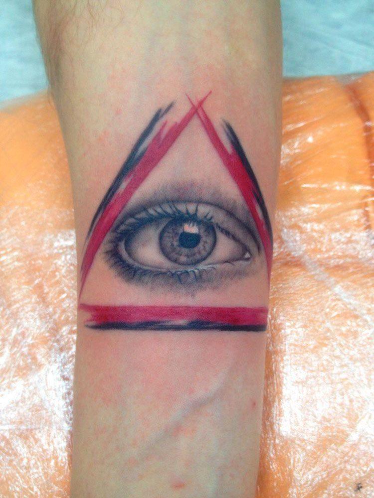 Глаз в треугольнике, Трэш-полька, Реализм