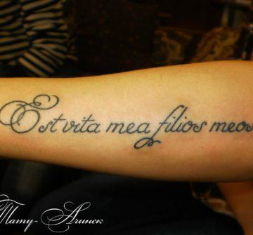 Красивые тату надписи для девушек с переводом (фото) - GF