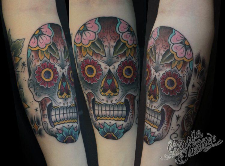 Мексиканский череп калавера