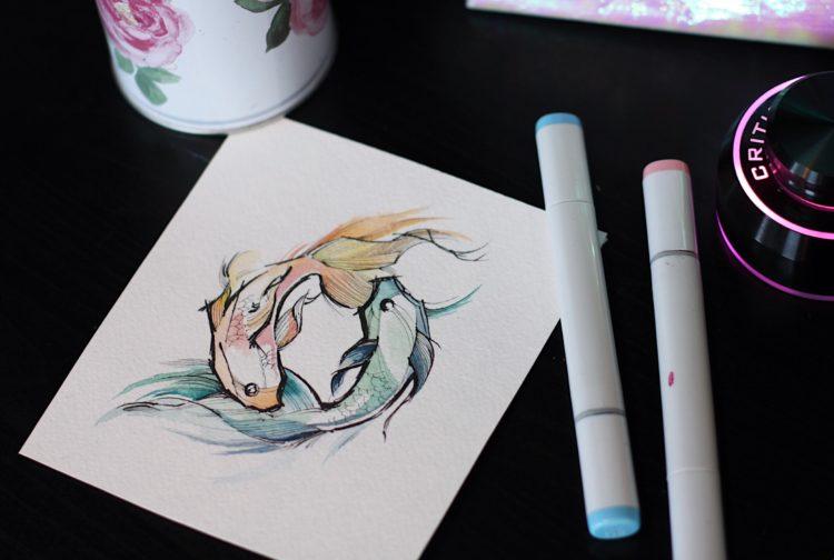 Две рыбы, Инь и Ян