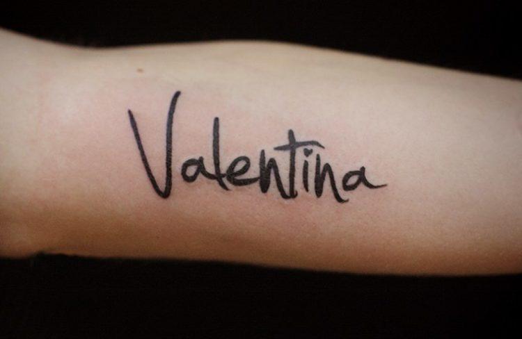 Имя Валентина
