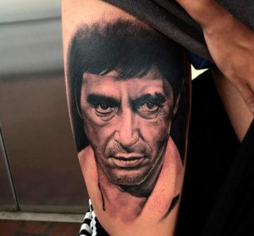 Портрет Тони Монтана