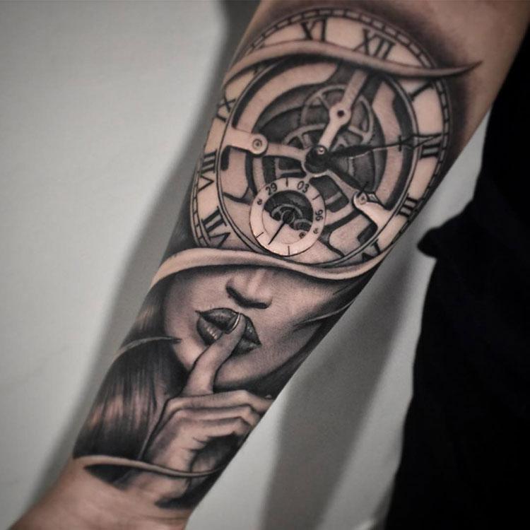 Татуировки картинки на предплечье