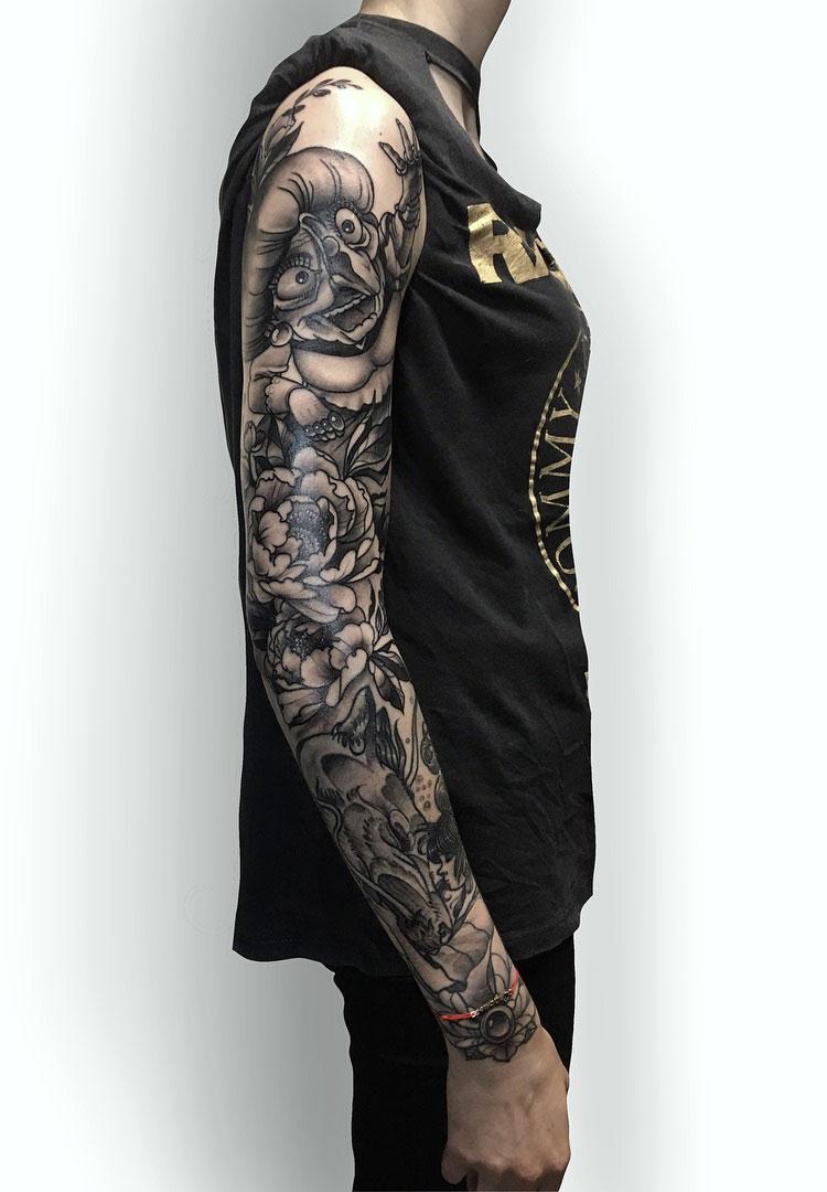 как самые красивые тату рукав фото является одним