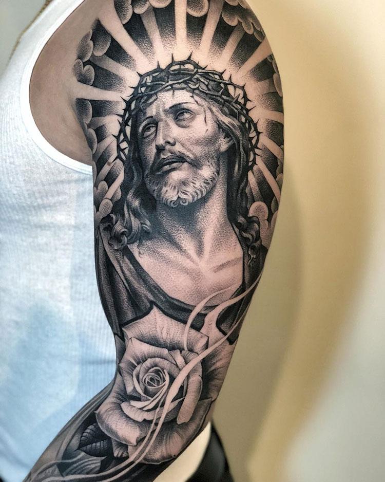 отмены тату иисус на руке картинки новая