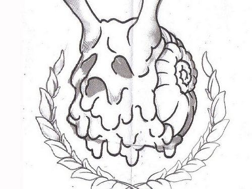 escaregot-tattoo-sketch