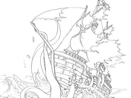 ship-and-octopus-tattoo-design