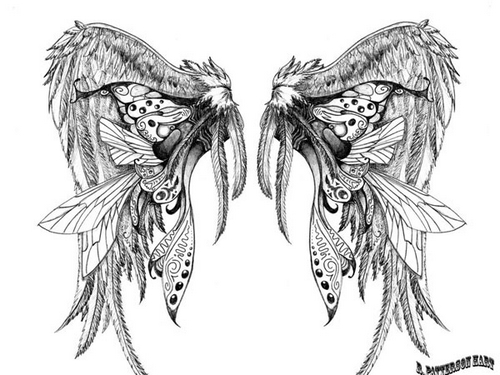 wing-tattoo-design
