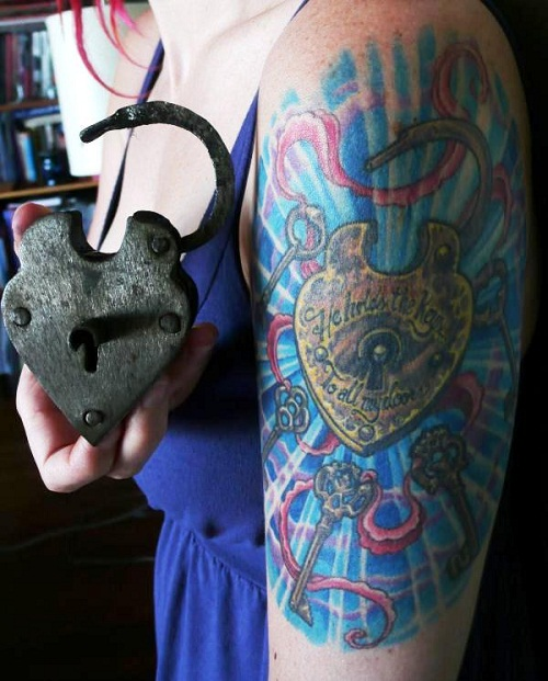 wow-key-lock-tattoo